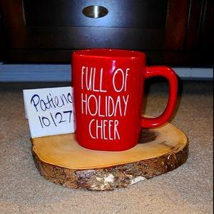 Rae Dunn FULL OF HOLIDAY CHEER Christmas mug